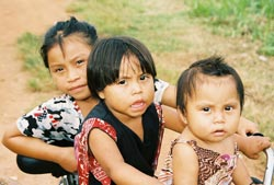 Children in Belize