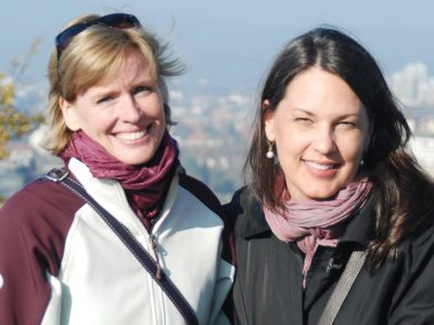 Ann Hinrichs & Wendy Mills-Italy/Slovenia 2012