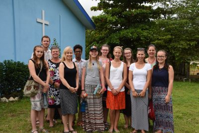 Chapel Ridge Canadian Youth Team-Belize, 2016