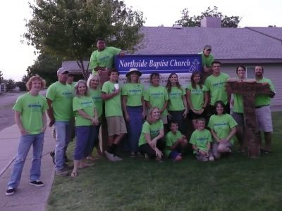 Northside Baptist Church, NC-West Texas VBS Team, 2013