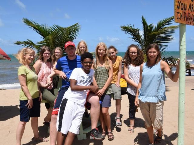 Chapel Ridge Youth Team-Belize, 2016